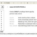 Excel - univerzální funkce ZVOLIT
