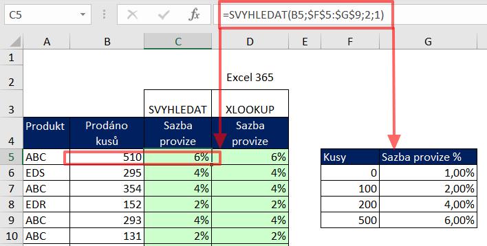 excel_vyhledávání_parametrické